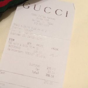 Gucci Accessories - Authentic men s Gucci hat 4d11d2a7146